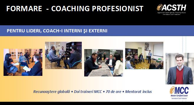 Training coaching ICF
